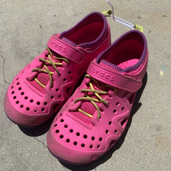 CROCS Shoes | Swiftwater Pink Play And